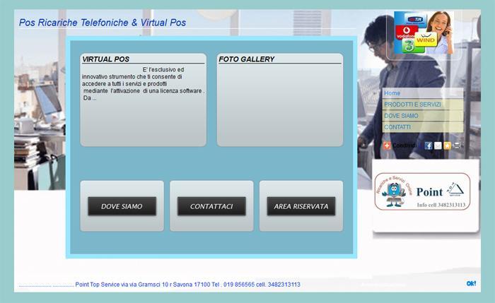 Pos Ricariche Telefoniche & Virtual Pos